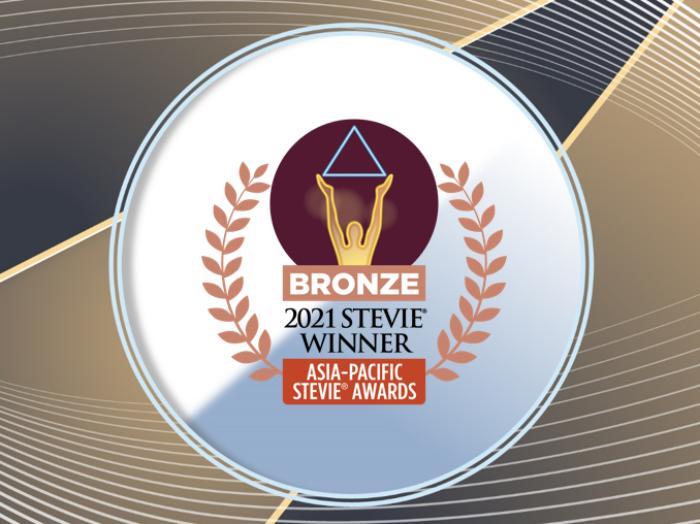 2021 Stevie Winner_Bronze